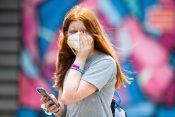 zagađenje vazduha lice