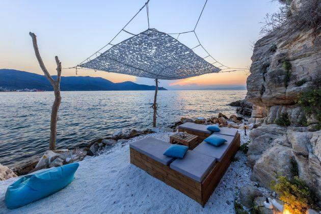 Grčka; plaža; Tasos