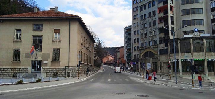 Užice, glavna ulica
