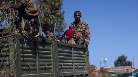 etiopija vojnici