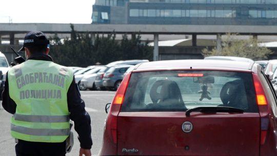 Saobraćajna policija, kontrola saobraćaja