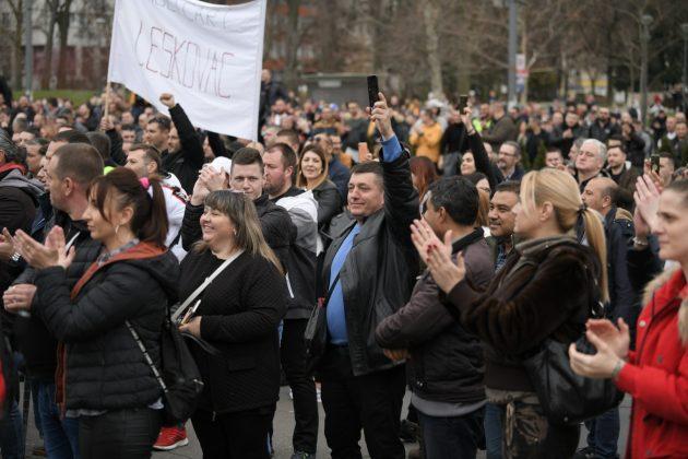 Estrada uputila podršku muzičarima na protestu
