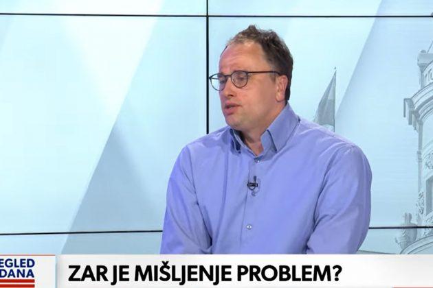 pregled dana, GOST Ognjen Radonjić