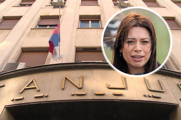 Ministarka dala 2 miliona Tanjugu da prati njene aktivnosti