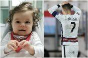 Kristijano Ronaldo, kapiten Portugala, se drži za glavu