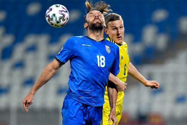 Vedat Murići tzv. Kosovo fudbal reprezentacija