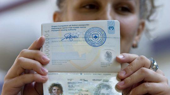 pasoš kosova