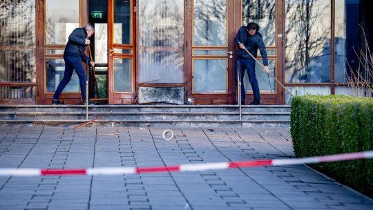 Roterdam, eksplozija, crkva