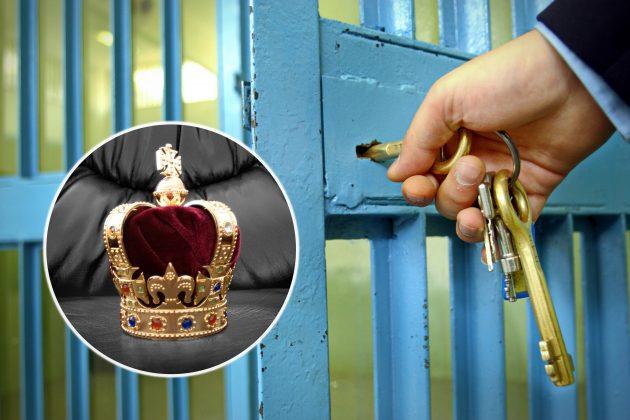 vredjanje predsednika i kralja, zatvor