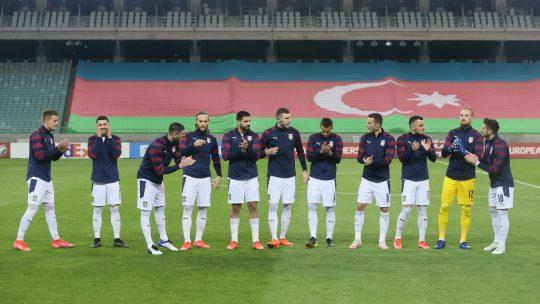 Srbija odbrana greske golovi irska azerbejdzan