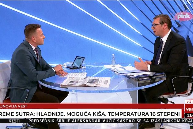 Srđan Predojević, Srdjan Predojević, Aleksandar Vučić