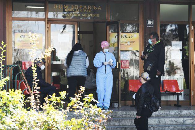 Kovid ambulanta Novi Beograd