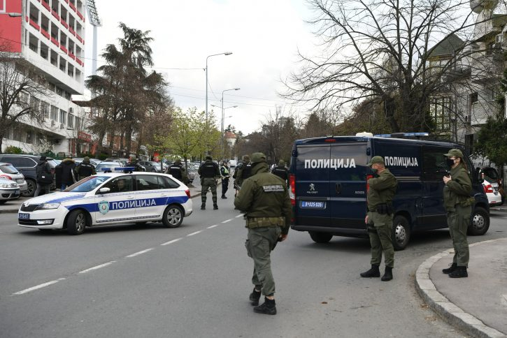 Stadion Rajko Mitic Marakana policija derbi