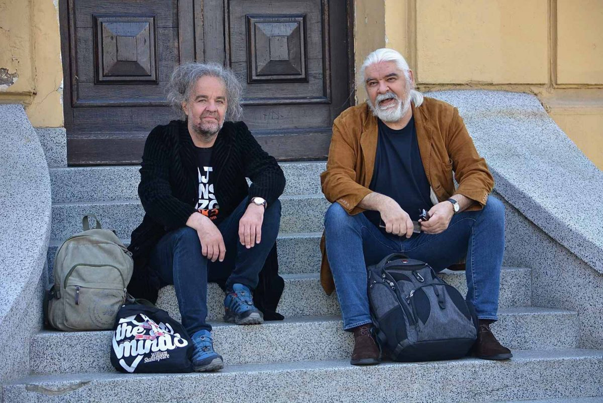 Miljenko Jergovic i Gorcin Stojanovic