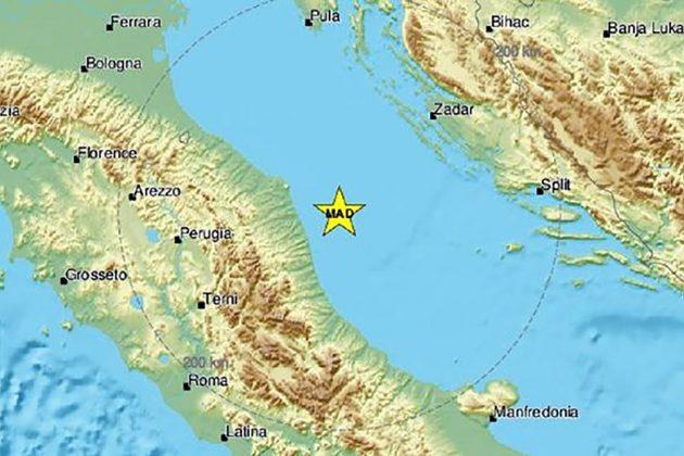 Zemljotres jadran