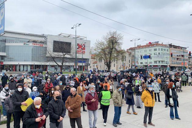 Sarajevo protest