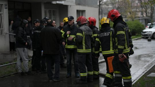 Požar, Novi Beograd