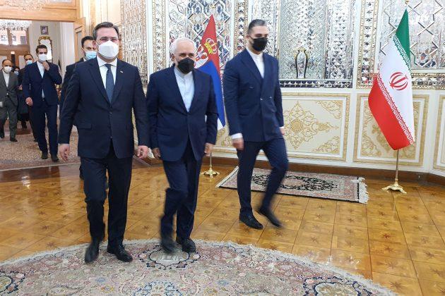 NIKOLA SELAKOVIC I MOHAMED DZAVAD ZARIF, Teheran