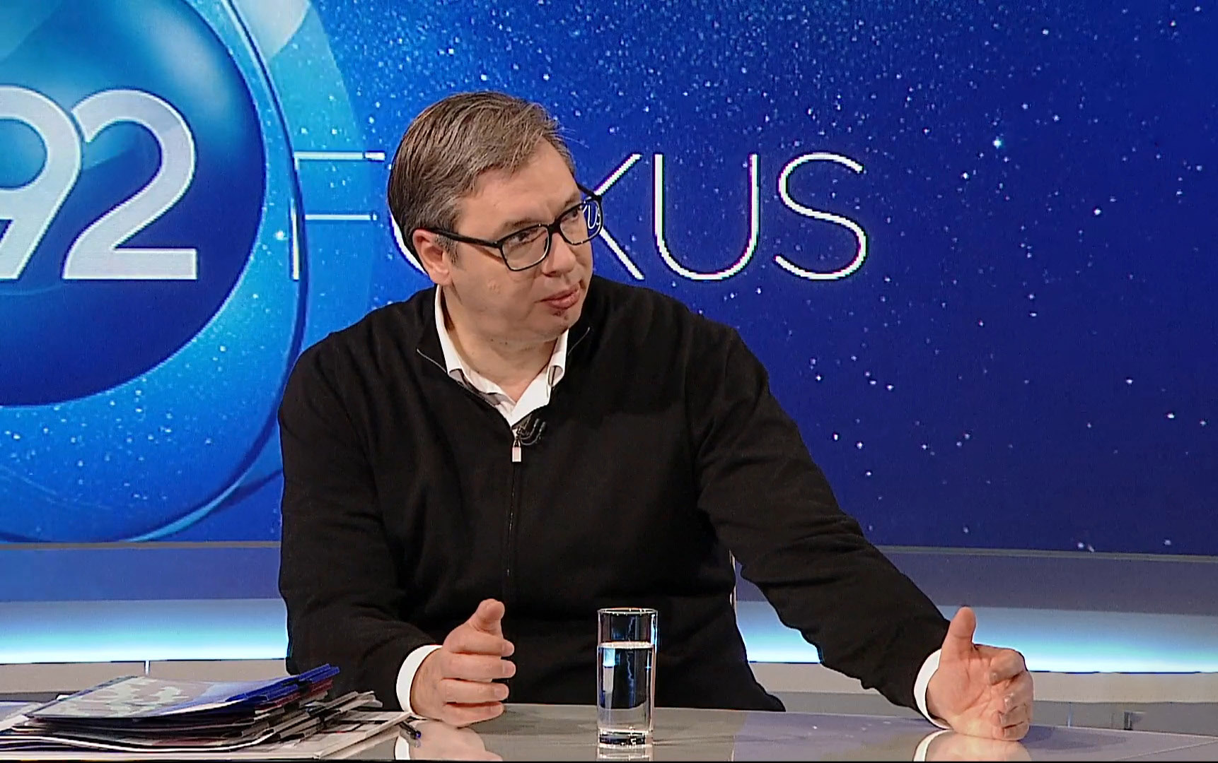 Aleksandar Vučić, emisija Fokus, B92