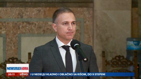 Nebojša Stefanović, Borba protiv organizovanog kriminala, prilog, Emisija Pregled dana