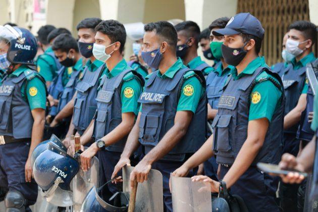 Daka, Bangladeš, policija