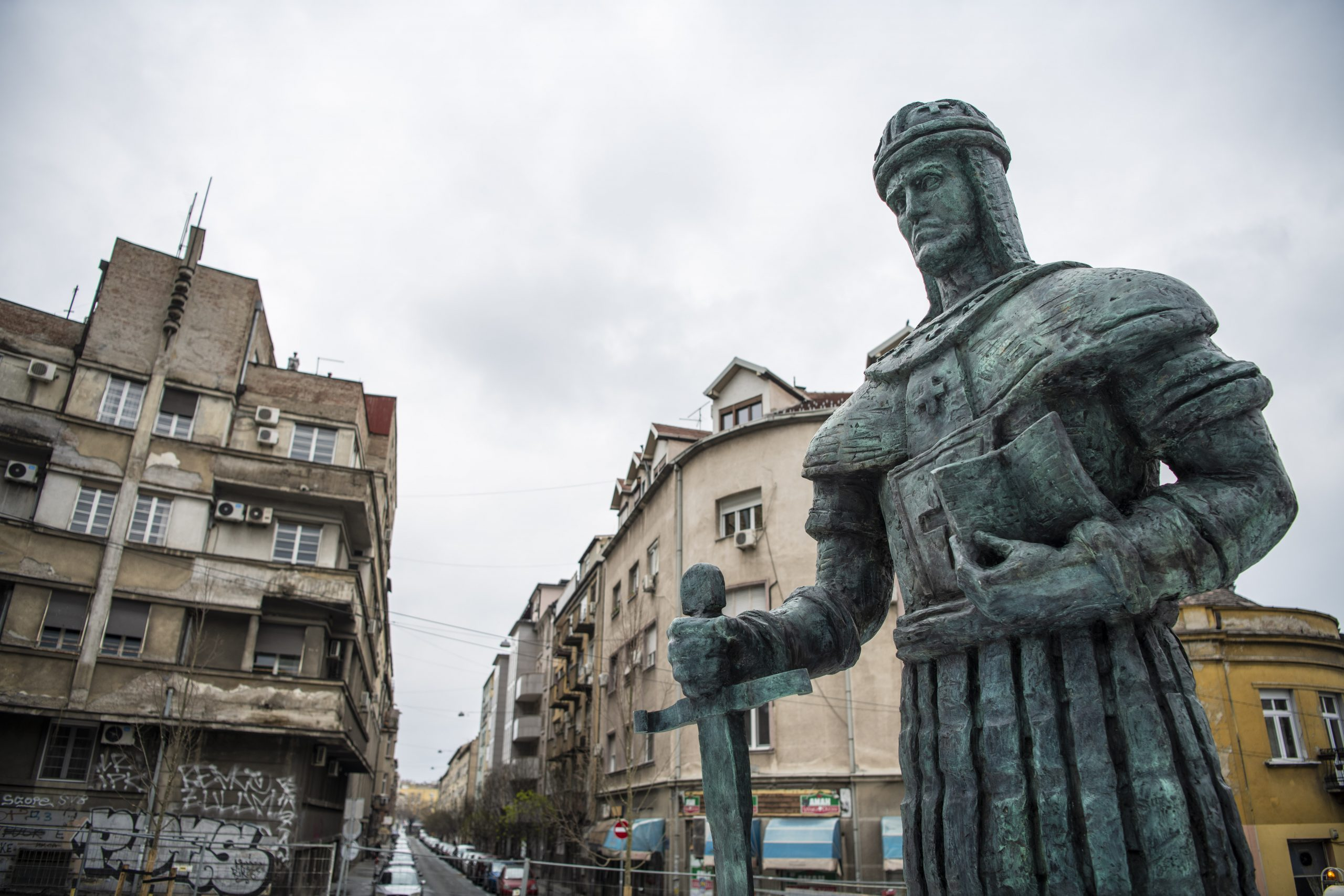 Spomenik, despost Stefan Lazarević, Dorćol