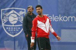 Novak Đoković Goran Ivnaišević Beograd ATP 250 Serbia Open
