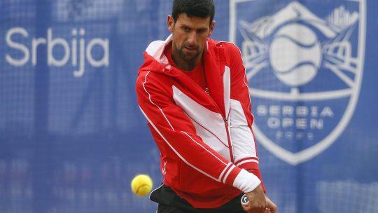 Novak Đoković Beograd ATP 250 Serbia Open