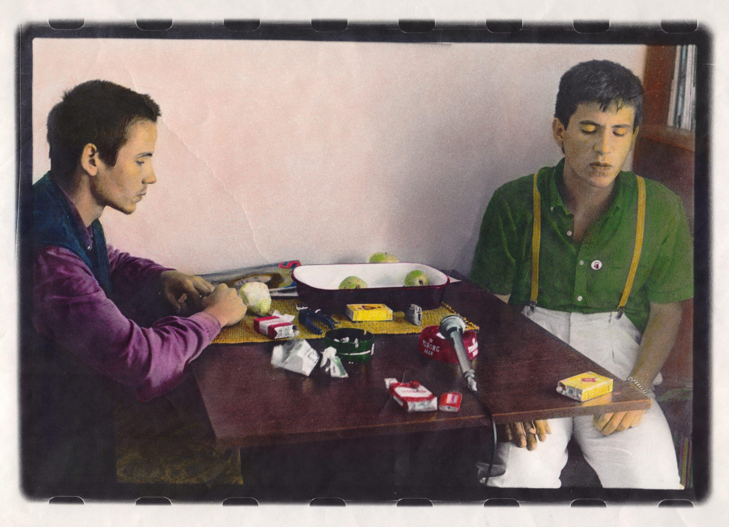 Ivica Vdović Vd i Milan Mladenović, 1981. godina Foto: Goranka Matić