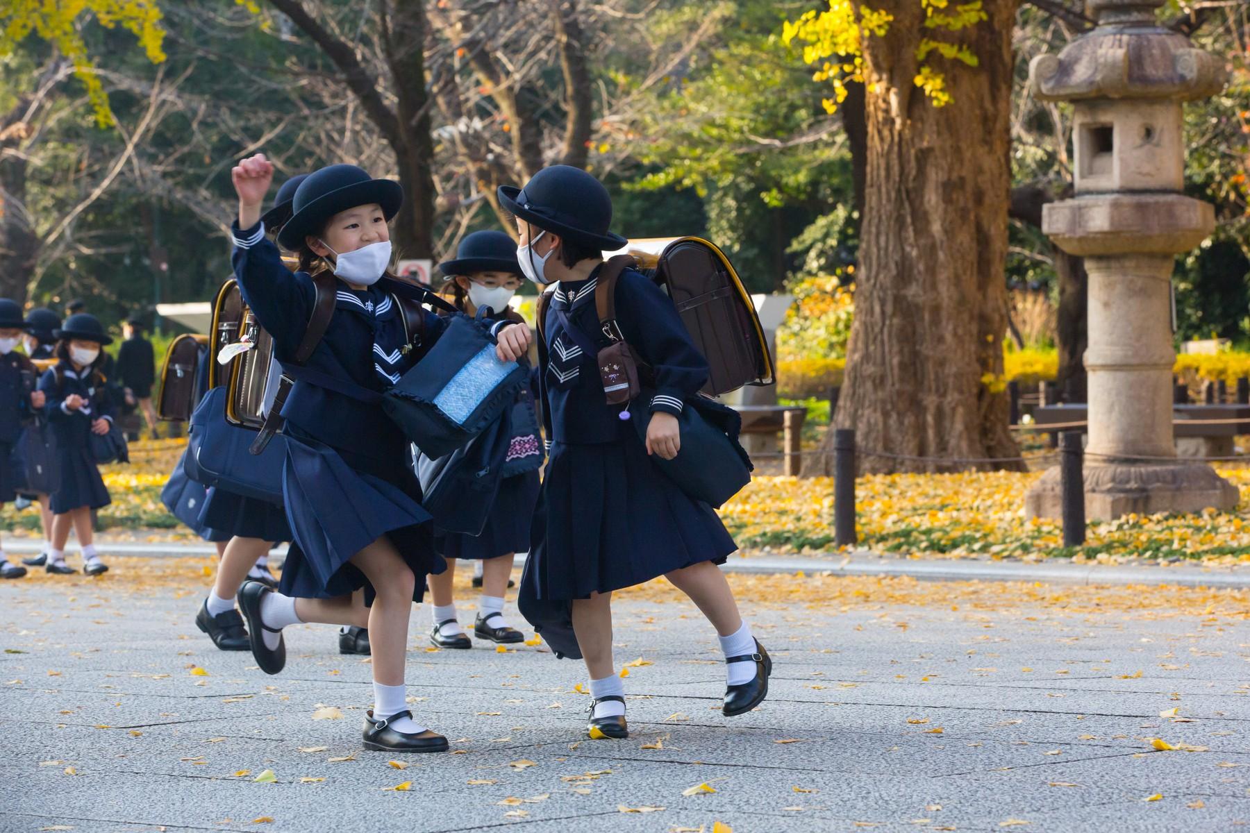 Japan; japanska škola; deca; školske uniforme