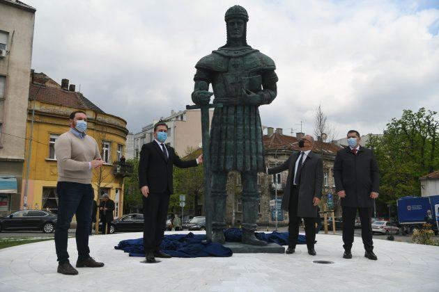 despot Stefan Lazarević spomenik