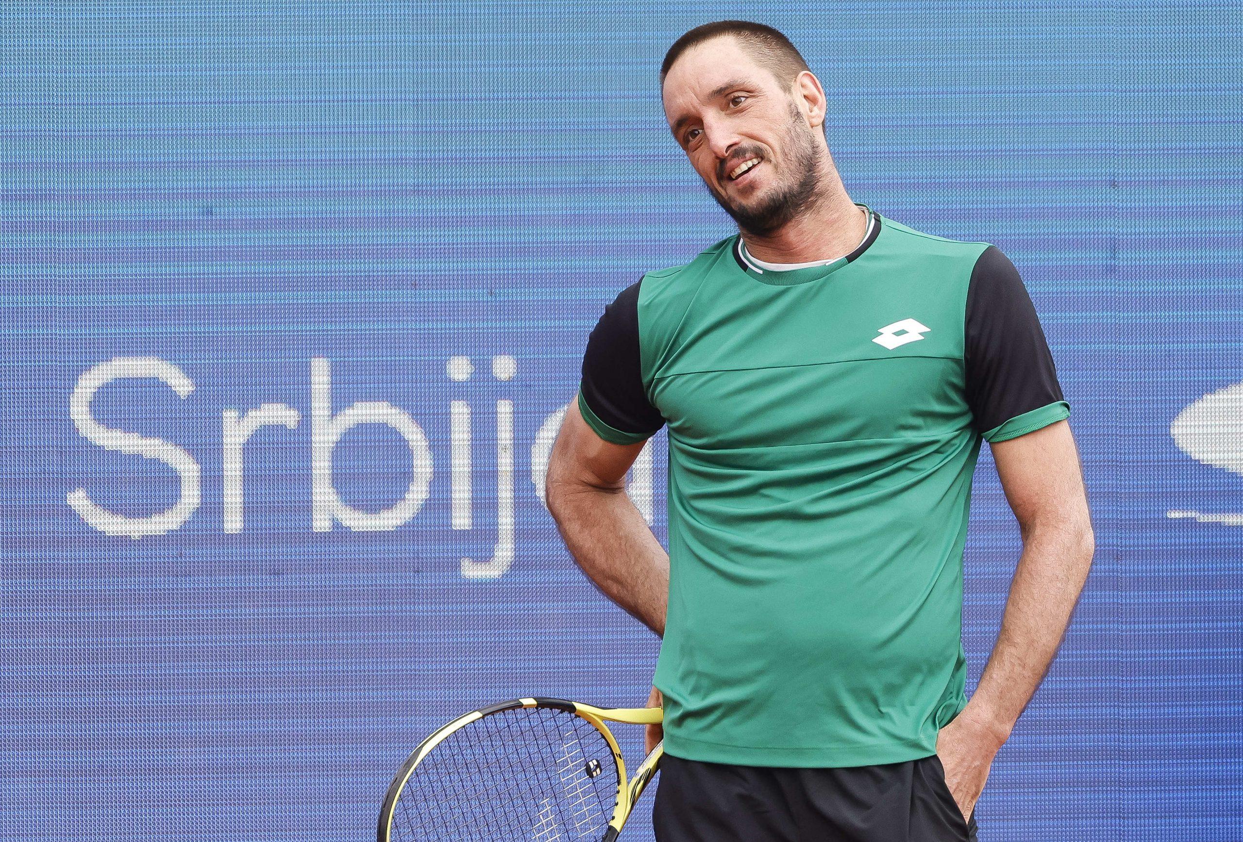Viktor Troicki Serbia Open 2021 razočaran neverica