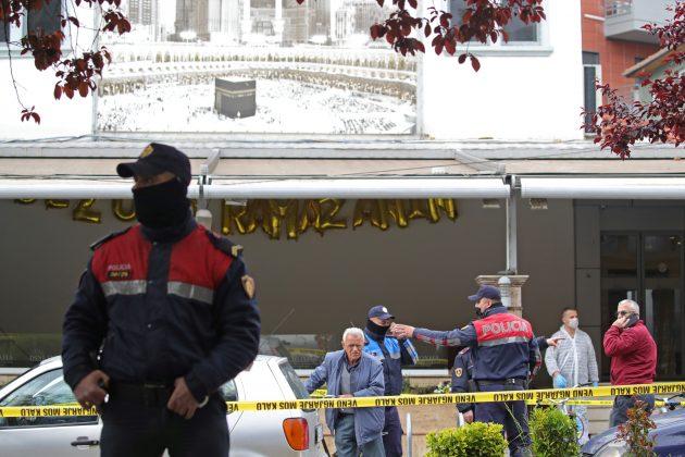 Tirana, džamija napad