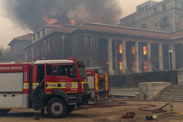 Požar Kejptaun Univerzitet
