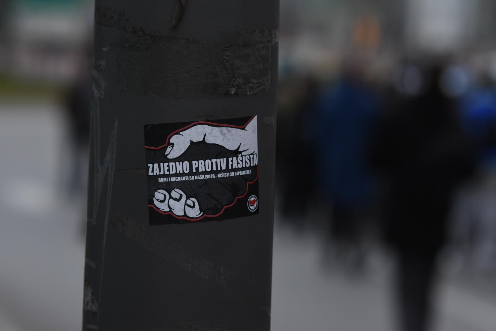 antifašistički skup novi sad