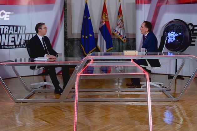 FTF SPECIJAL Senad Hadžifejzović - Aleksandar Vučić