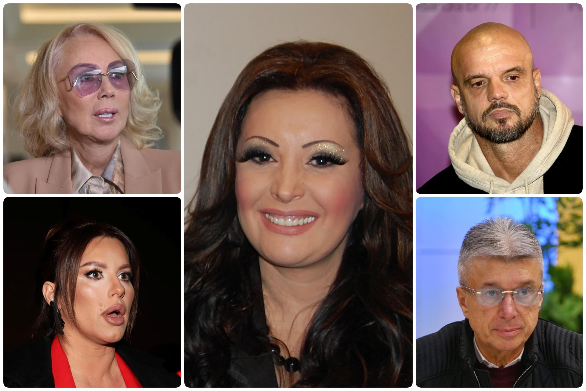 KOMBO Dragana Mirković, Seka Aleksic, Boban Rajovic, Lepa Brena, Sasa Popovic