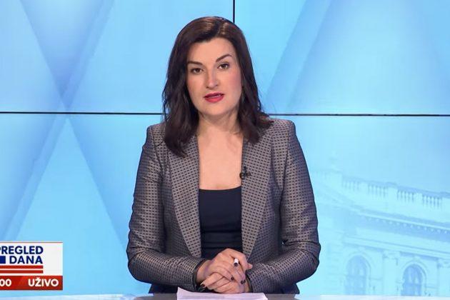 """Jelena Obućina u emisiji """"Pregled dana"""""""