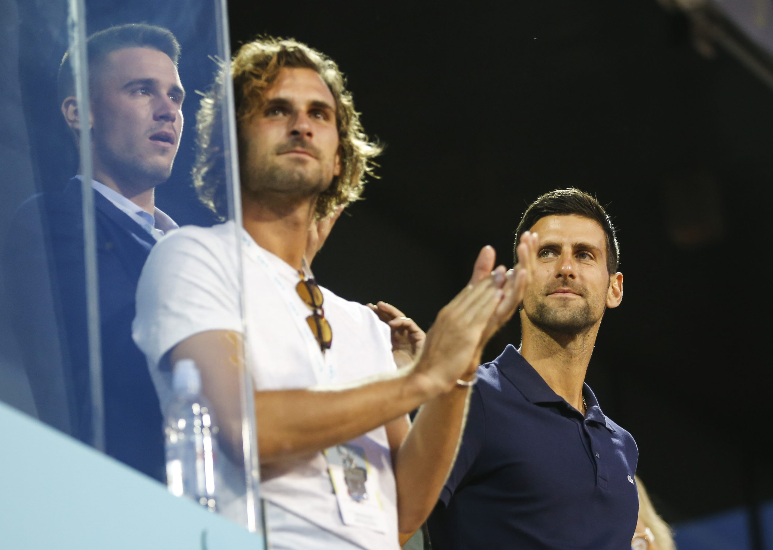Marko, Novak i Đorđe Đoković