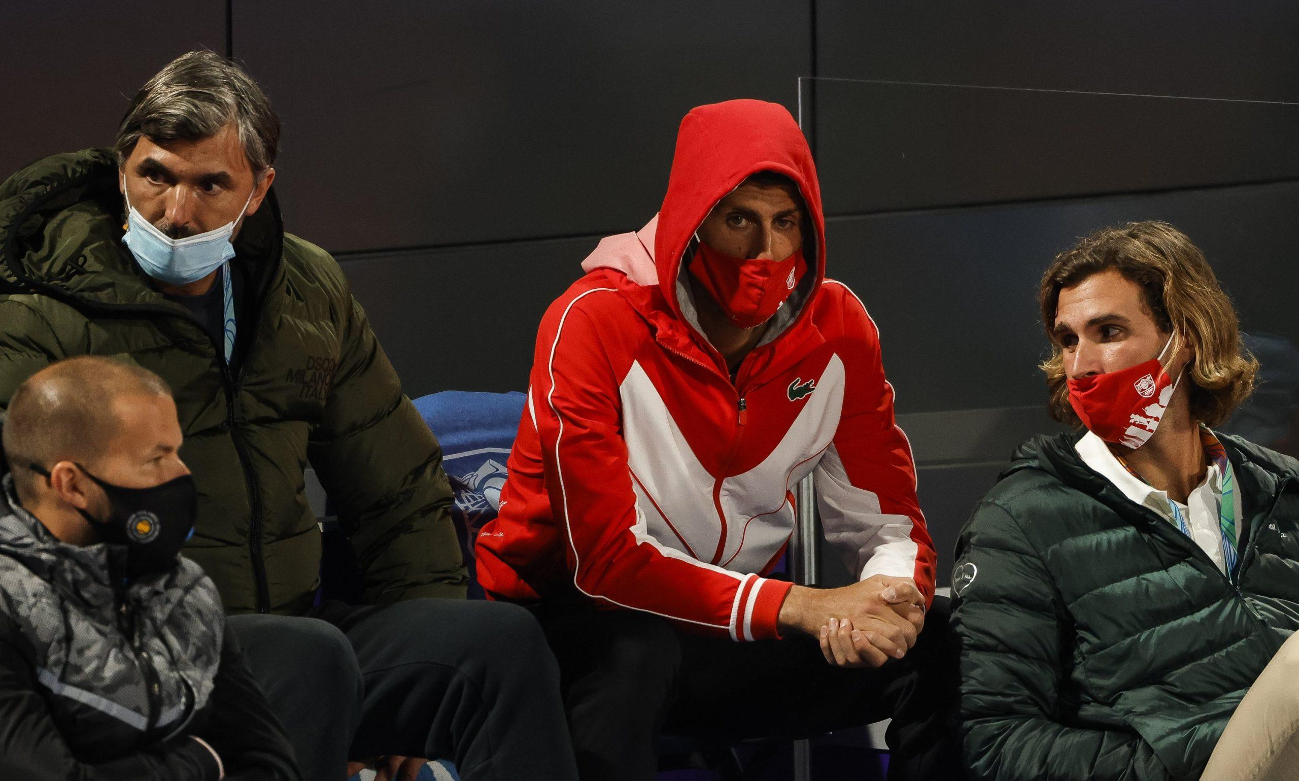 Marko i Novak Đoković Goran Ivanišević Serbia Open 2021