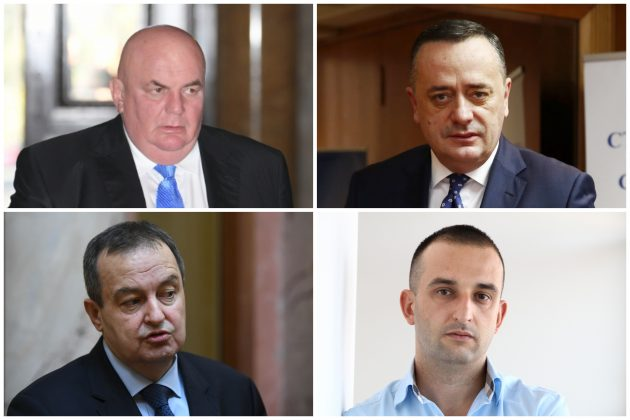 Dragan Marković Palma, Aleksandar Antić, Ivica Dačić, Srđan Knežević, Srdjan Knežević