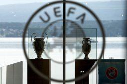 UEFA trofej