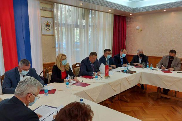 sastanak lidera vladajuće koalicije u Republici Srpskoj