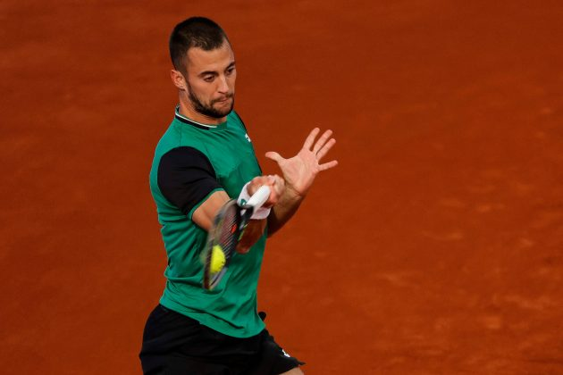Laslo Đere poraz prvo kolo Serbia Open Đanluka Mađer