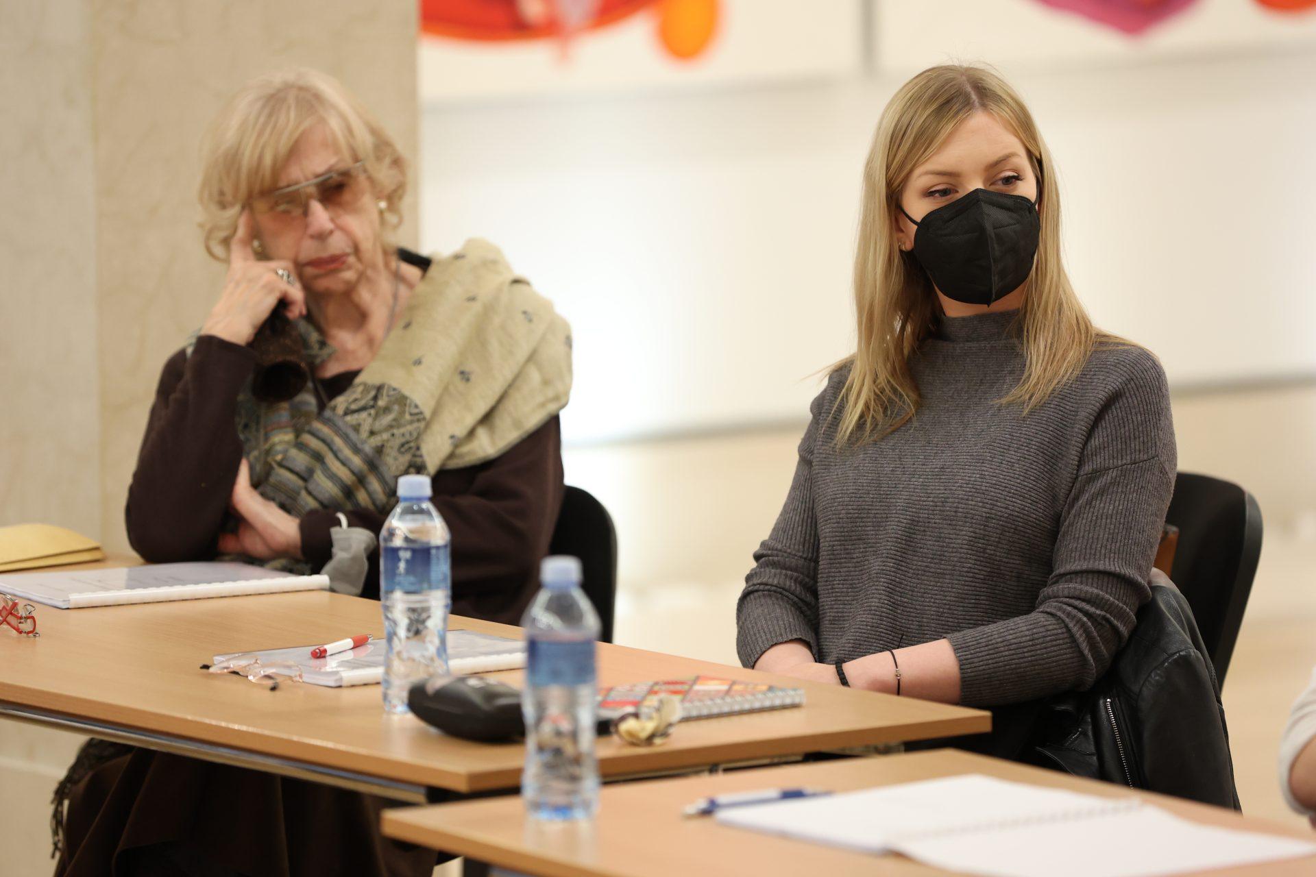 Branka Petrić, Tamara Aleksić, Da krenemo ispočetka, nova predstava, pozorište Madlenianum