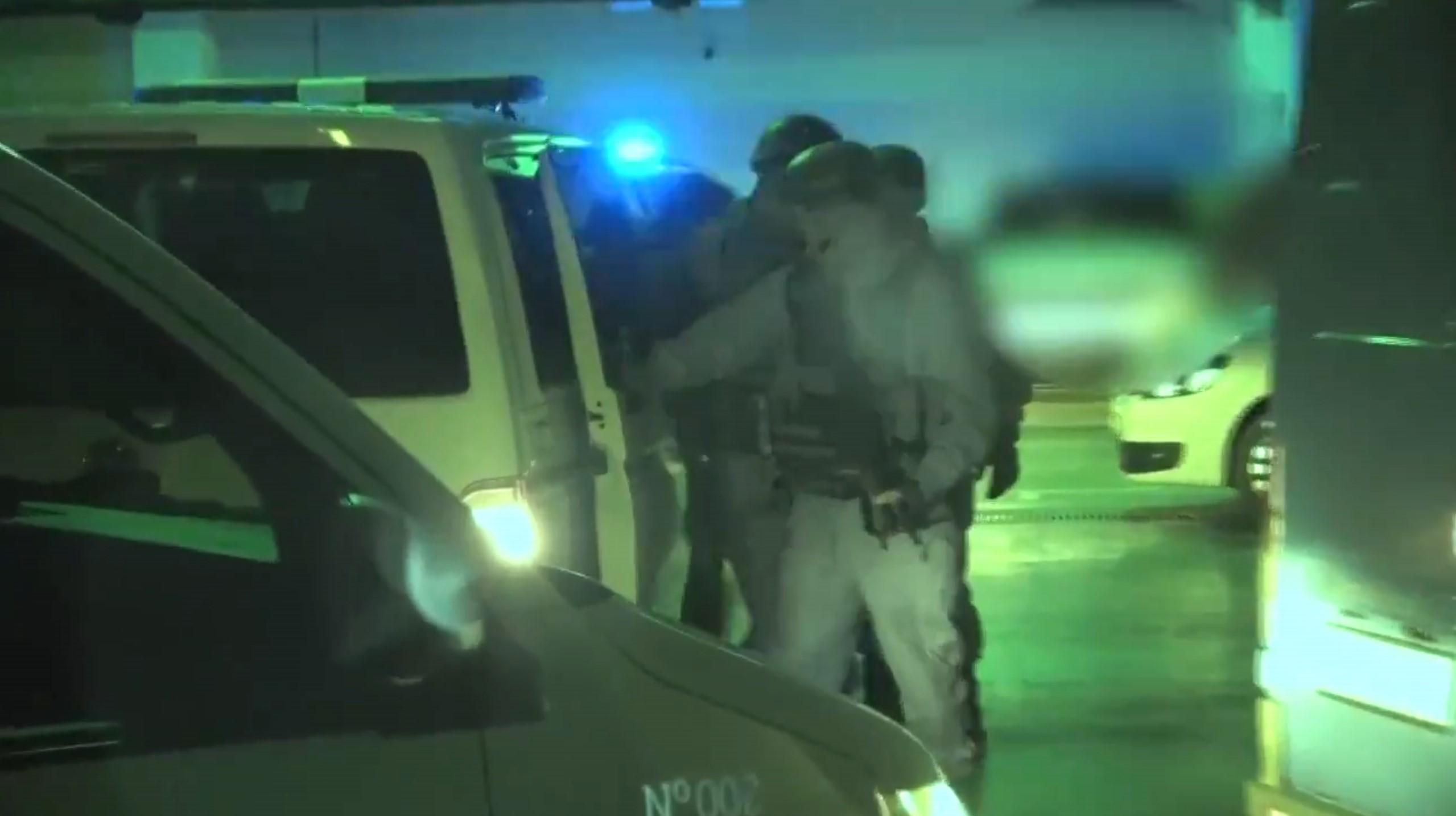 Crna Gora, hapšenje, policija