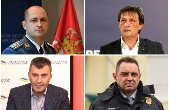 Đuro Jovanić, Djuro Jovanić, Bratislav Gašić, Zoran Đorđević, Zoran Djordjević, Aleksandar Vulin