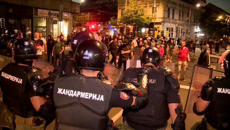 Policijska brutalnost, nasilje, emisija Među nama, Medju nama