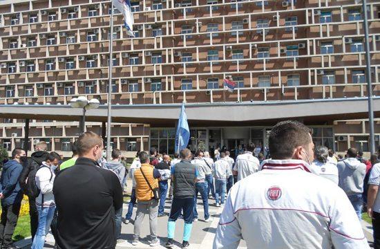 Fiat Kragujevac protest