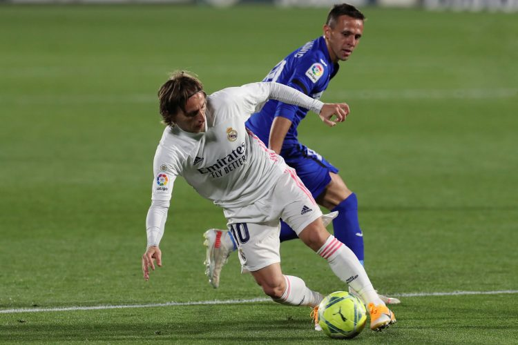 Luka Modrić Nemanja Maksimović FK Real Madrid Hetafe